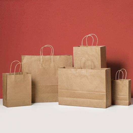 クラフト紙袋ショッパー